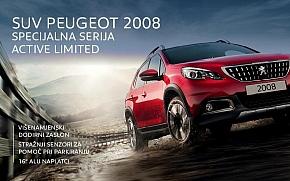 Peugeot 2008 u posebnoj seriji Active Limited