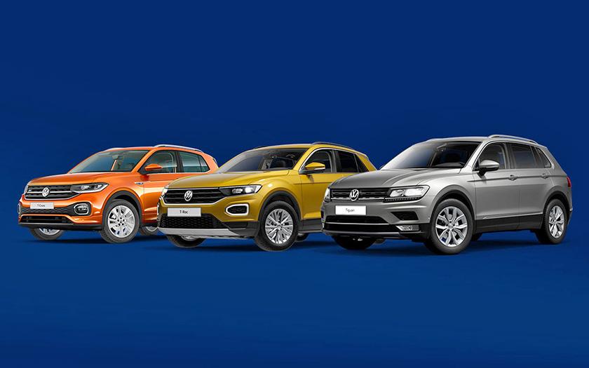 Volkswagen SUV ponuda: T-Cross, T-Roc, Tiguan