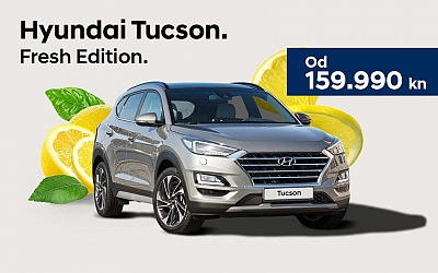Hyundai Tucson Fresh Edition - bogata oprema uz početnu cijenu od 159.990kn
