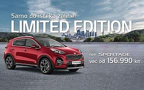 Kia Sportage s posebnim paketima opreme Active Limited i Edition Limited