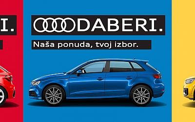 Audi A1, A3 ili Q2 uz uštede za financiranje putem Porsche leasinga i pet godina jamstva!