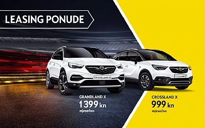 Opel Crossland X i Grandland X u posebnoj leasing ponudi