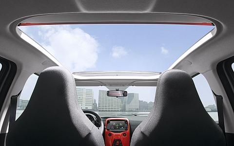Citroën C1 (2014) - Interijer