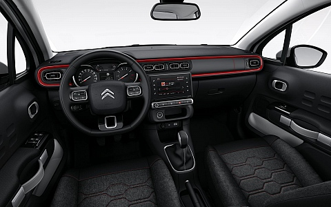 Citroën C3 (2017) - Interijer