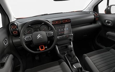Citroën C3 Aircross (2017) - Interijer