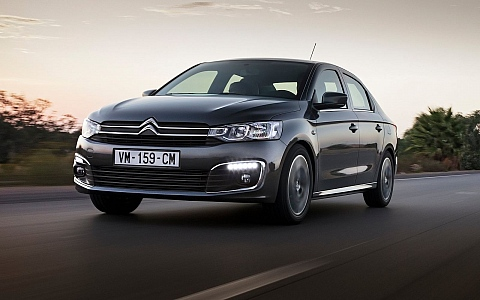 Citroën C-Elysée (2016) - Eksterijer