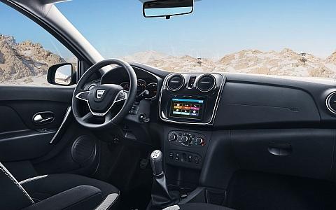 Dacia Logan MCV Stepway (2017) - Interijer
