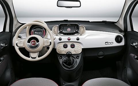 Fiat 500C (2015) - Interijer