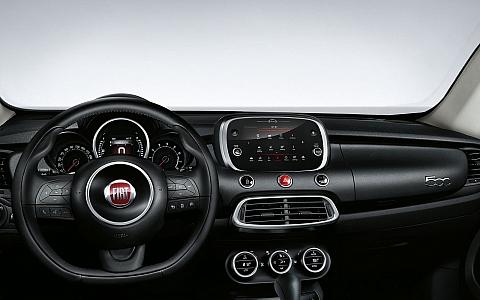 Fiat 500X Cross (2019) - Interijer