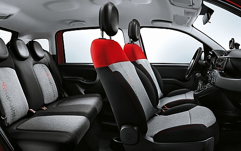 Fiat Panda (2011) - Interijer