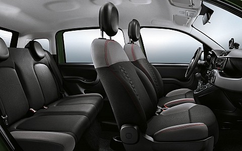 Fiat Panda 4x4 (2012) - Interijer