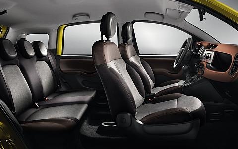 Fiat Panda Cross 4x4 (2014) - Interijer