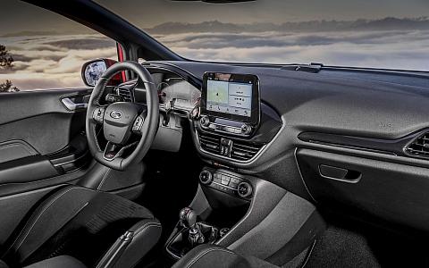 Ford Fiesta ST (2017) - Interijer