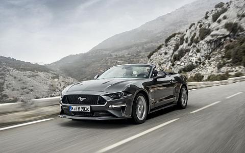 Ford Mustang Convertible (2018) - Eksterijer