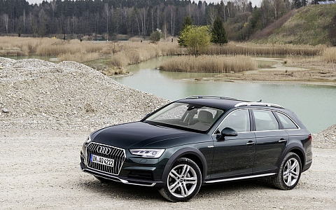 Audi A4 allroad quattro (2016) - Eksterijer