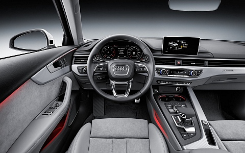 Audi A4 allroad quattro (2016) - Interijer