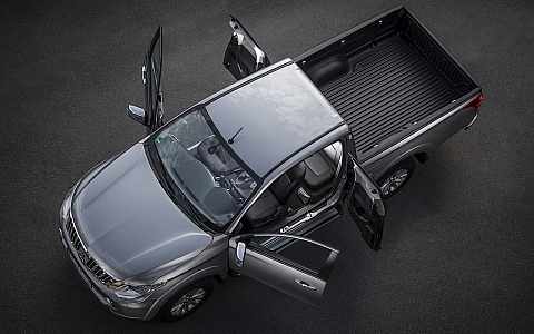 Mitsubishi L200 Club Cab (2012) - Eksterijer
