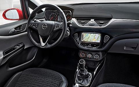 Opel Corsa (2014) - Interijer