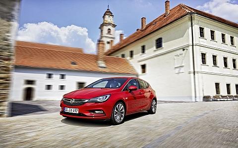 Opel Astra (2015) - Eksterijer
