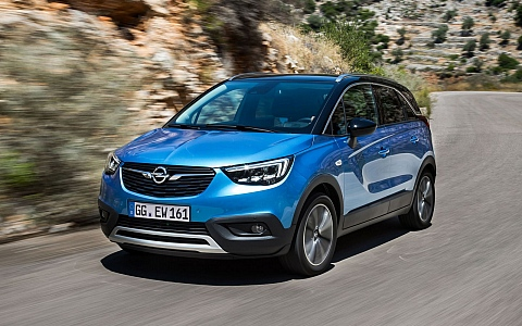 Opel Crossland X (2017) - Eksterijer
