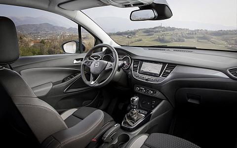 Opel Crossland X (2017) - Interijer