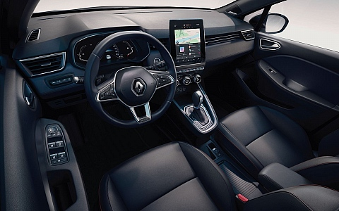 Renault Clio (2019) - Interijer