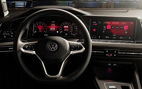 Volkswagen Golf 8 (2020) - Interijer